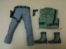 Hot Toys Chris Redfield Vest Pants Holster Gun Boots Resident Evil 1/6 Biohazard
