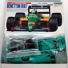 Gunze Sangyo Benetton B187 F1 1:24 Scale
