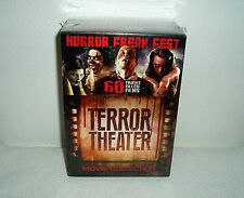 Horror Freak Fest Terror Theatre DVD 60 Movies 15 Disc Box Set Rated R