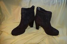 New Size 6 Juicy Couture Cable Knit Women's Lupia Ankle Boots Grey $89.99