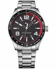 Tommy Hilfiger Men's Table Stainless Steel Bracelet Watch 44mm 1791176 NWT-NIB