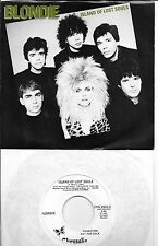 BLONDIE  Island of Lost Souls  rare promo 45 with PicSleeve