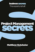 Project Management by Matthew Bachelor New Paperback Book