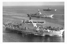 rp6382 - Royal Navy Aircraft Carriers - HMS Albion , Bulwark & Eagle - photo 6x4