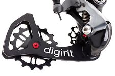 Digirit 2016 Road Bike Derailleur Pulley Wheel Kit for Shimano Ultegra/Dura Ace