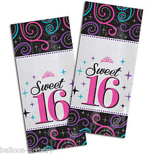 20 Classic Sweet 16 16th Birthday Party Small Cellophane Favour Loot Treat Bags