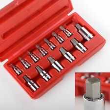 METRIC MM HEX ALLEN WRENCH BIT SOCKET TOOL SET - 13pcs