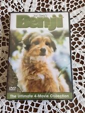 Benji The Ultimate 4-Movie Collection DVD Set