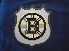 POTTERY BARN KIDS NHL BOSON BRUINS NAVY FULL QUEEN DUVET COVER NEW