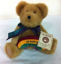 Boyds Bear What A Friend We Have In Jesus Plush Bear 94818 Head Bean Collection