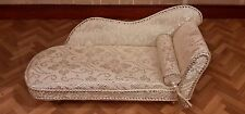Dolls house chaise lounge