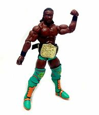 "WWF WWE Wrestling KOFFI KINGSTON with Belt Accessory Mattel Elite 6"" figure"