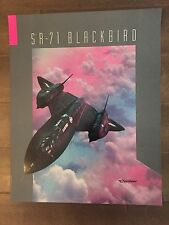 Glossy IN COLOR Lockheed SR-71 Blackbird Aircraft Poster- circa 1990s