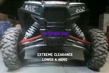 EXTREME CLEARANCE ARCHED HD CHROMOLY A-ARMS POLARIS RZR XP 1000, UNCOATED