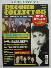 RECORD COLLECTOR MAGAZINE - Issue 250 June 2000 - Dylan / Beatles / Boyzone