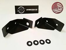 StreetRays 07-14 Jeep Wrangler JK Windshield Side Bracket Light Mounts (PAIR)