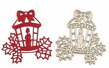 New Metal Die Craft / Cardmaking / Scrapbooking - CHRISTMAS LANTERN
