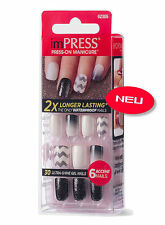 Broadway Impress NAILS ACCENT Kit flash mob unghie artificiali autoadesivo