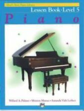 Alfred's Basic Piano Library: Alfred's Basic Piano Lesson Book, Level 5 Bk 5...