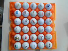 Lot of 100 Advertising Golf Balls Nike Titleist Callaway Instant Collection Used