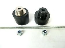KTM 690 SUPERMOTO FRONT AXLE CRASH MUSHROOMS SLIDERS BOBBINS BUNGS FORKS  S1X