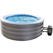 Piscina idromassaggio SPA riscaldata gonfiabile pompa filtro copertura 017294