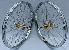 BMX TNT BICYCLE WHEELSET, wheels, SUN RHYNO LITE XL (CHROME), DERRINGER, 20 inch