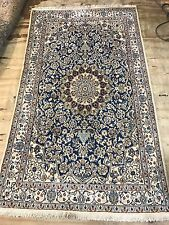 Part Silk Persian Naien Rug Size:205x125 Cm Handmade Carpet