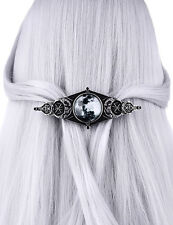 Restyle Moon Geometry Hair Clip Gothic Witchy Occult Alchemy Jewelry