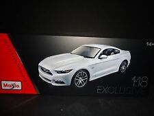 Maisto Ford Mustang GT 2015 50th Anniversary Edition 1/18 Exclusive Edition