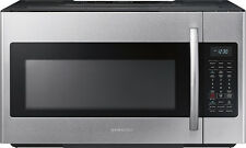 Open-Box: Samsung - 1.8 Cu. Ft. Over-the-Range Microwave - Stainless Steel