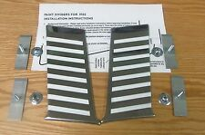 1955 CHEVY BELAIR PAINT DIVIDER MOLDINGS LOWER REAR , New  pair USA MADE
