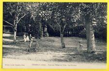 CPA France 60 - CHAMBLY (Oise) PARC de l'HÔTEL de VILLE La PELOUSE