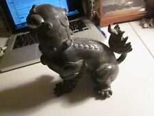 Ming Dynasty style? Chinese Bronze Foo Dog Sculpture
