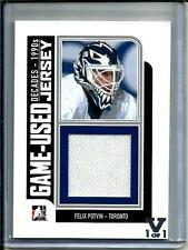 Felix Potvin 12/13 In The Game Decade 1990's Game Used Jersey #1/1