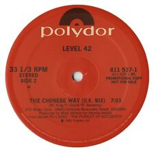 "Level 42 The Chinese Way US 12"" 3 mixes"