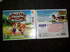 Harvest Moon 3D: The Lost Valley (Nintendo 3DS, 2014) N3ds XL 2ds Brand New