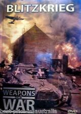 WEAPONS OF WAR - Blitzkrieg DVD + BOOK WORLD WAR TWO WWII Tanks BRAND NEW R0