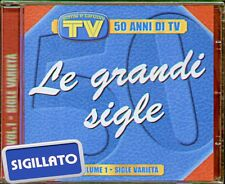 "COMPILATION "" LE GRANDI SIGLE-50 ANNI DI TV VOL.1"" CD SIGILLATO EDIZ. EDITORIALE"
