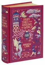 FAIRY TALES FROM AROUND THE WORLD by Andrew Lang Illustrated Leatherbound 2014