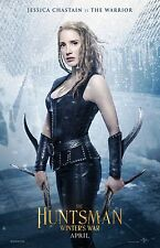 "The Huntsman movie poster (d) - Jessica Chastain  - 11"" x 17"" inches"