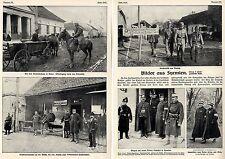 Serbien Bilder aus Syrmien* Ruma-Peterwardein-Neusatz *Text-& Bilddokumente 1914