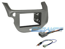 2009-2012 HONDA FIT CAR STEREO RADIO INSTALLATION DASH KIT W/ WIRING HARNESS