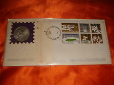 Singapore 1973 Seventh (7th) SEAP Games, Miniature Sheet & $5 Silver Coin, PNC