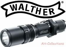 WALTHER RLS 450 LED Taschenlampe Flashlight 600 Lumen mit Holster + 2 Batterien
