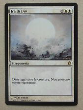XXX 1x WRATH OF GOD ira di dio italienisch commander 2013 (removal white) NM/M