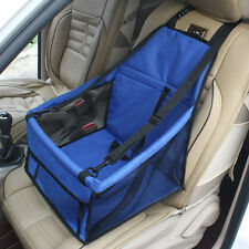 Portable Pet Car Booster Seat Soft Safety Dog Cat Puppy Carrier Cage Travel Bag