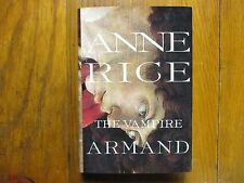 "ANNE  RICE  Signed  Book (""THE  VAMPIRE  ARMAND""- 1998 First  Edition  Hardback)"