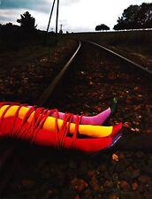 Guy Bourdin Offset Lithograph Photo Print 27x36 Charles Jourdan Shoes 1970 Legs