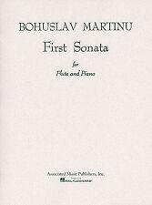 Bohuslav Martinu Primera Sonata Para Flauta Y Piano Aprende A Tocar Libro De Partituras